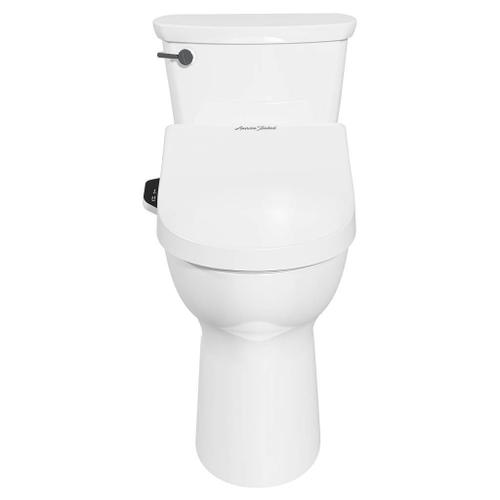 American Standard - Advanced Clean 2.0 SpaLet Bidet Seat and Cadet Pro Right Height Elongated 1.28 GPF Toilet Combo  American Standard - White