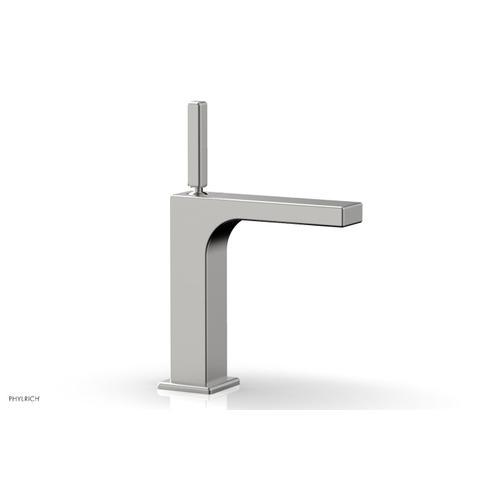 MIX Single Hole Lavatory Faucet, Blade Handle 290-06 - Satin Chrome