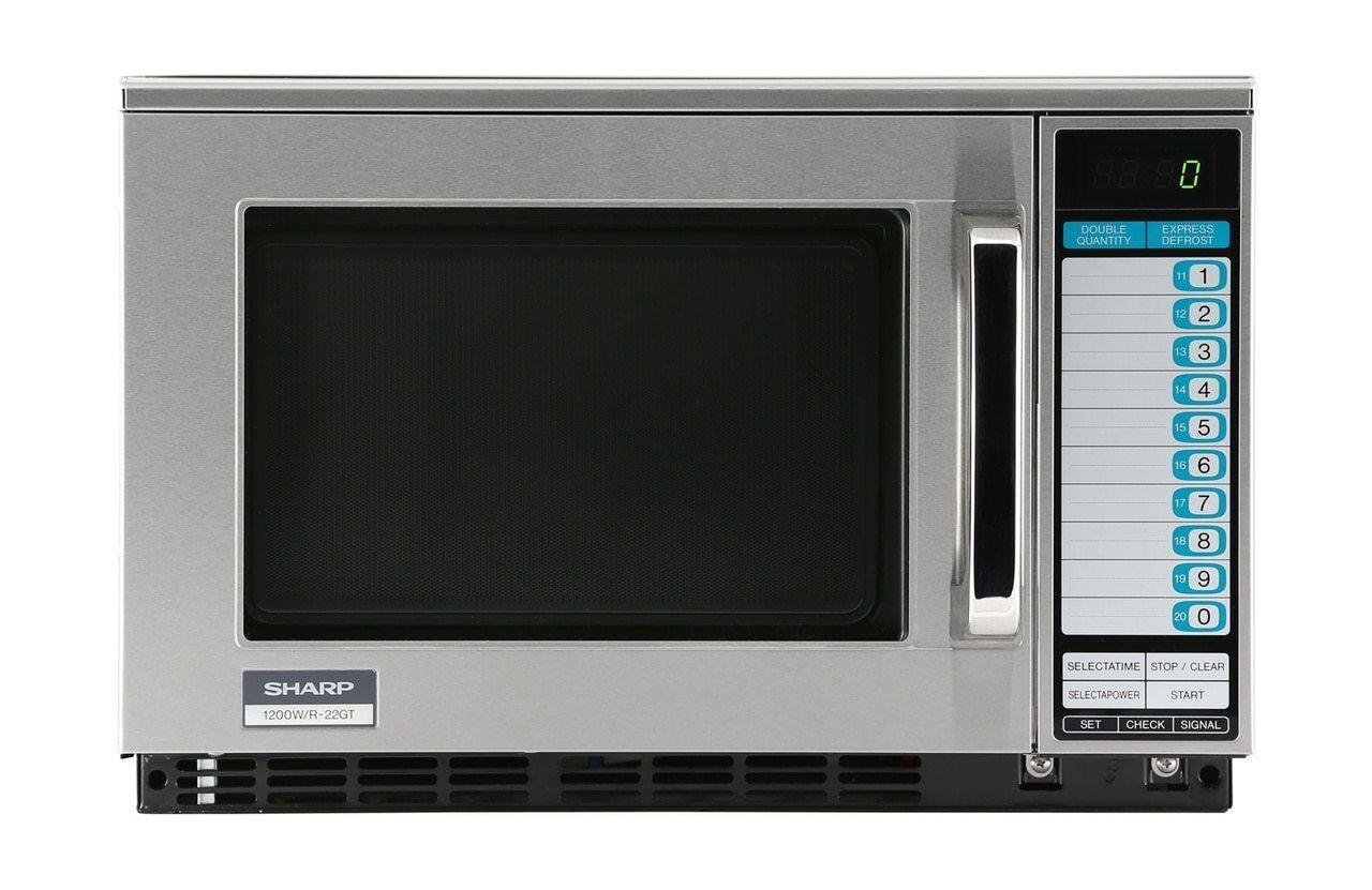 Heavy-Duty Commercial Microwave Oven with 1200 Watts
