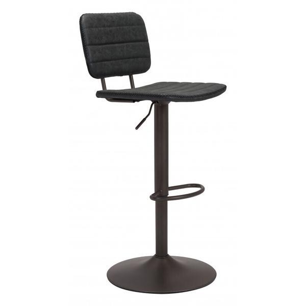 See Details - Holden Bar Chair Vintage Black