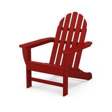 View Product - Classic Adirondack Chair in Crimson Red