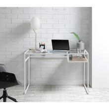 di, white office desk