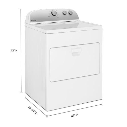 Gallery - 7.0 cu. ft. Top Load Gas Dryer with AutoDry™ Drying System