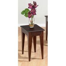 Chairside W/ Fancy Oak Veneer Top