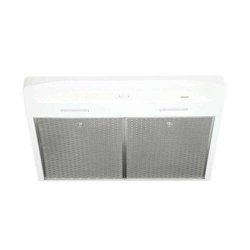 Alta 30-inch 300 CFM White Range Hood with LED light