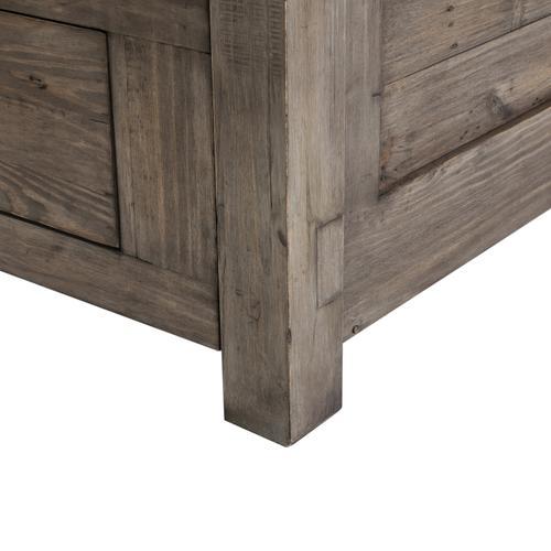 Settler King Storage Bed-sundried Ash