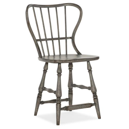 Hooker Furniture - Ciao Bella Spindle Back Counter Stool-Speckled Gray