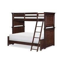 Canterbury - Warm Cherry Twin Over Full Bunk Bed