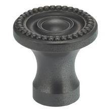 Classic Cabinet Knob in US10B (Black, Oil-Rubbed, Lacquered)