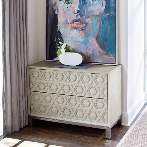 Gallery - Santa Barbara Drawer Chest in Textured Cameo (385)