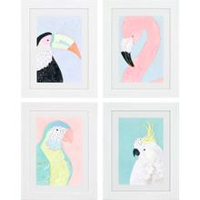Product Image - Tropical Birds S/4