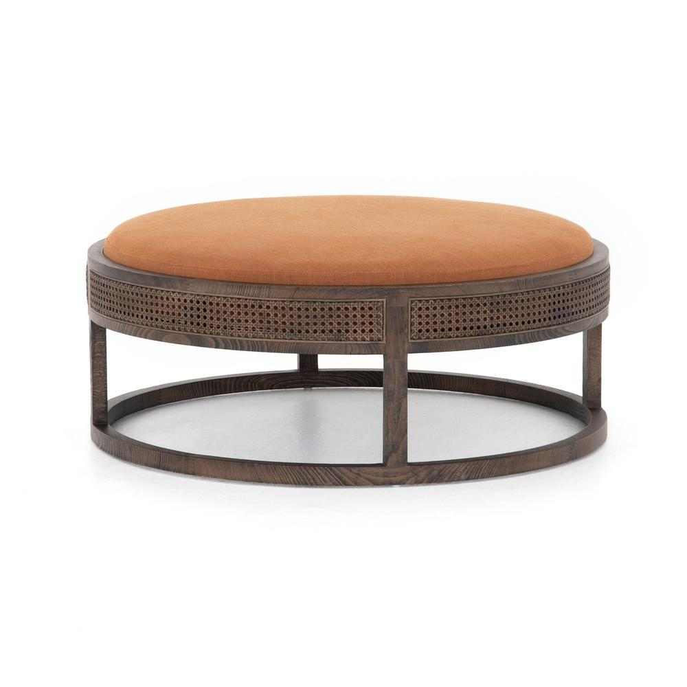 See Details - Savory Rust Cover Cooper Ottoman