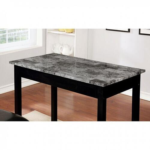 Furniture of America - Caldas 3 Pc. Counter Ht. Set