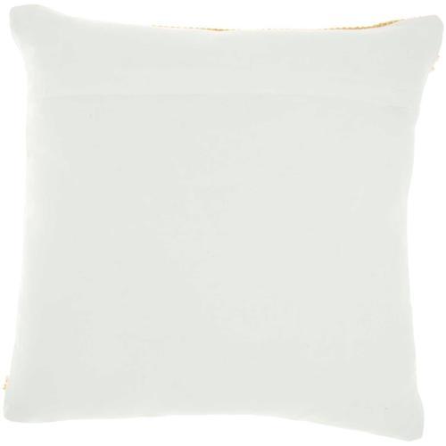 """Outdoor Pillows Vj088 Yellow 18"""" X 18"""" Throw Pillow"""