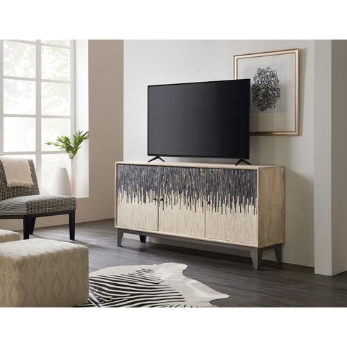 Home Entertainment Three Door Console