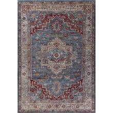 Ashton 7709 Blue/grey Taylor 2' X 3'3""