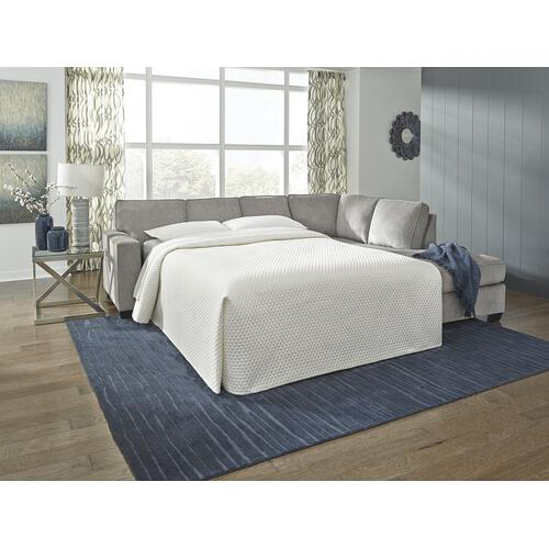 Altari Sleeper Sectional Alloy Right
