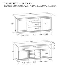 TS72A Custom TV Console