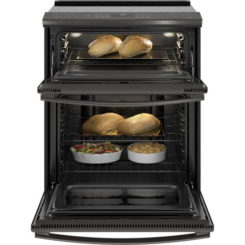 """Gallery - GE Profile™ 30"""" Smart Slide-In Electric Double Oven Convection Range"""