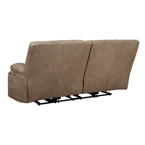 Ricmen 2 Seat PWR REC Sofa ADJ HDREST Putty