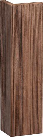 L-cube Body Trim Individual, Walnut Dark (decor)