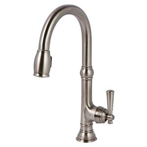 Antique Nickel Pull-down Kitchen Faucet