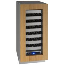 """See Details - Hwc515 15"""" Wine Refrigerator With Integrated Frame Finish and Field Reversible Door Swing (115 V/60 Hz Volts /60 Hz Hz)"""