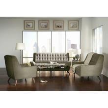 Natalia Mid-century Modern Dove Grey Loveseat