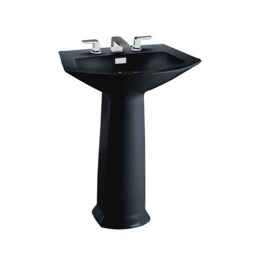 Soirée® Pedestal Lavatory - Ebony