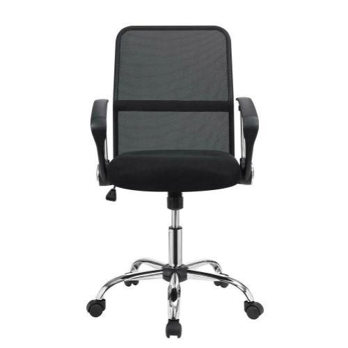 801319 In By Coaster In Jennings La Modern Black Mesh Back Office Chair