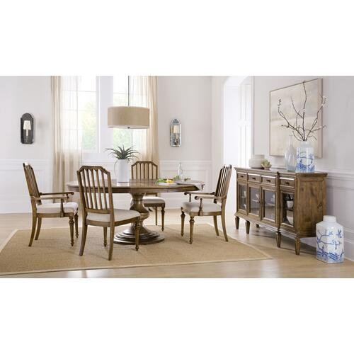 Dining Room Ballantyne Upholstered Seat Arm Chair - 2 per carton/price ea