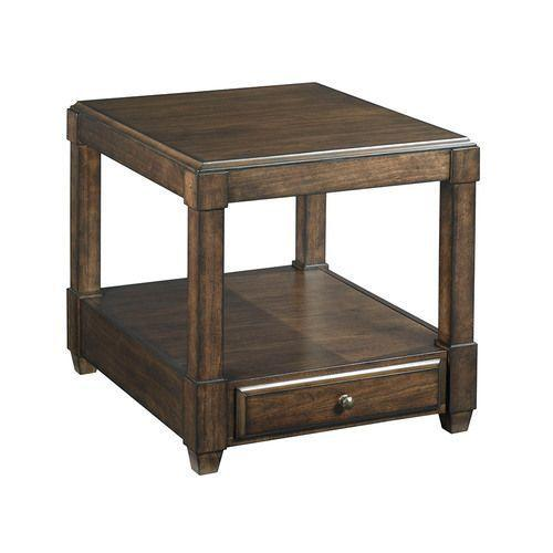 Halsey Rectangular Drawer End Table