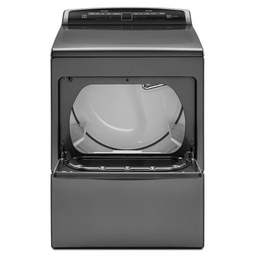 7.4 cu.ft Top Load HE Electric Dryer with AccuDry , Intuitive Touch Controls Chrome Shadow