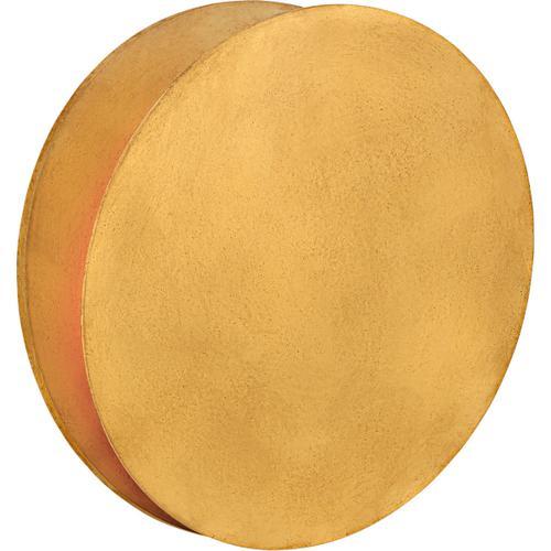 AERIN Gabriela LED 12 inch Gild Round Wall Washer Wall Light