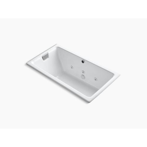 "Dune 66"" X 36"" Drop-in/undermount Whirlpool Bath With Reversible Drain"