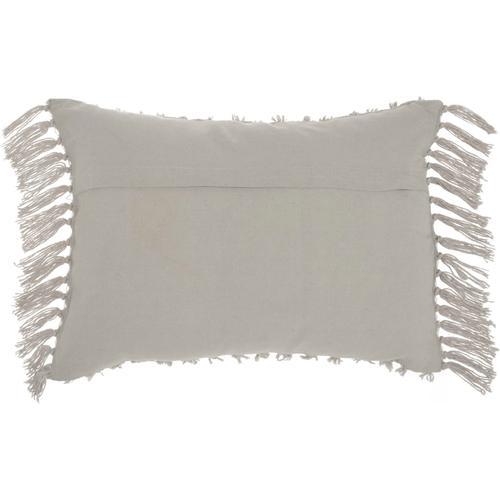 """Life Styles Gt037 Khaki 14"""" X 20"""" Throw Pillow"""