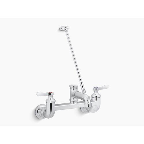 Polished Chrome Service Sink Faucet