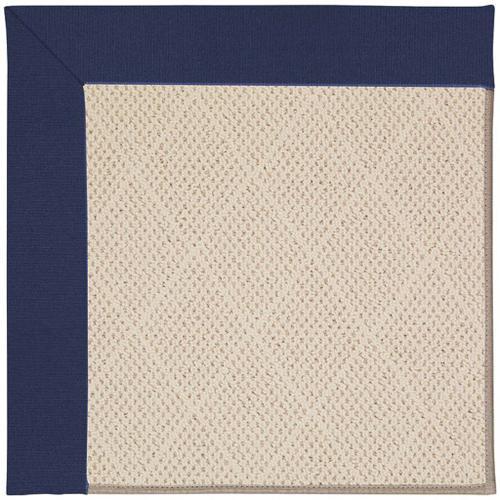 "Creative Concepts-White Wicker Canvas Royal Navy - Rectangle - 24"" x 36"""