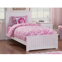 View Product - Nantucket Twin Bed with Matching Foot Board in White