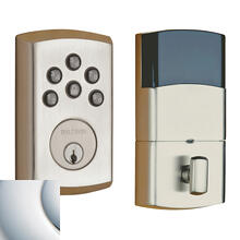 Polished Chrome Soho AC Z-Wave Deadbolt