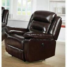 ACME Flavie Recliner (Power Motion) - 52007 - Leather Match