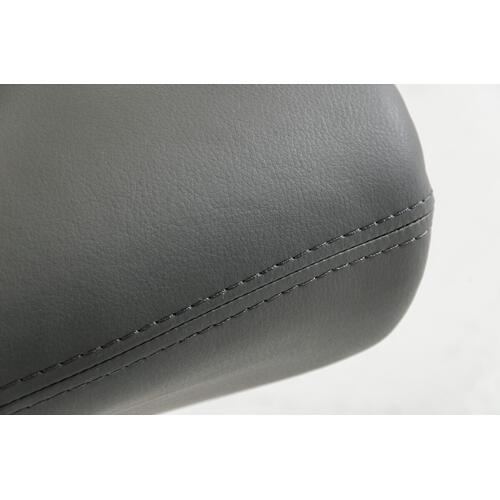 VIG Furniture - Penn Modern Grey Leatherette Dining Chair (Set of 2)