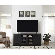 See Details - 74 Inch Console - Vintage Black Finish