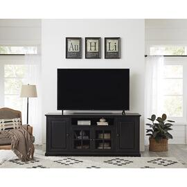 74 Inch Console - Vintage Black Finish