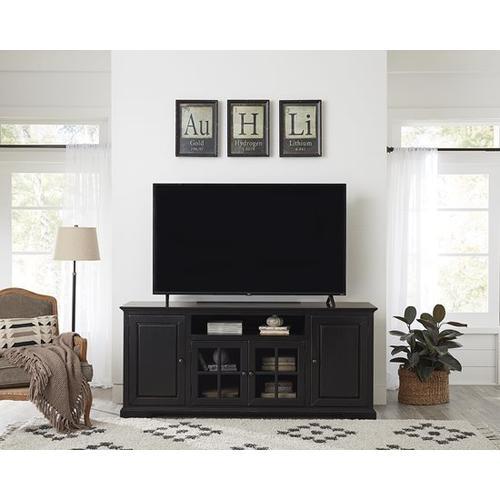 Progressive Furniture - 74 Inch Console - Vintage Black Finish