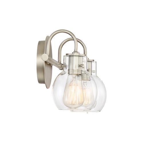 Quoizel - Andrews Bath Light in Antique Nickel