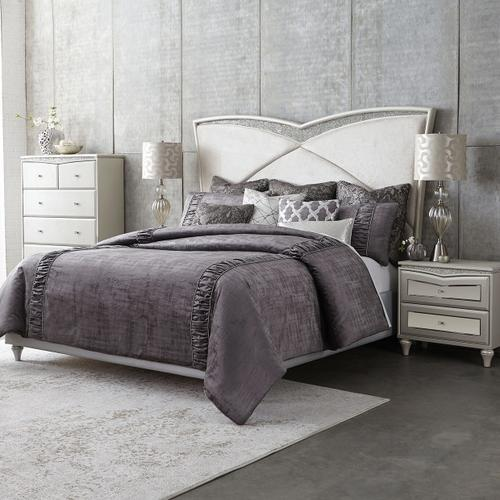 10pc King Comforter Set Slate