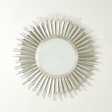 See Details - Necklace Mirror-Silver Leaf