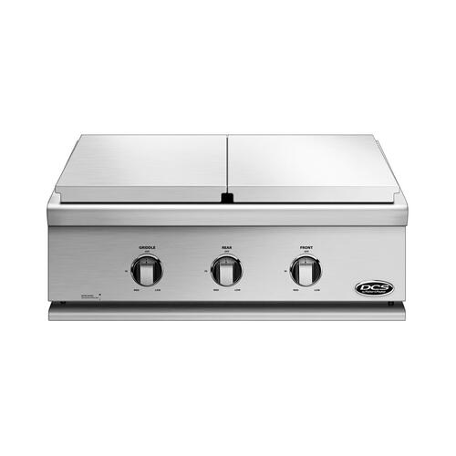 "30"" Series 7 Griddle/double Side Burner, Lp Gas"
