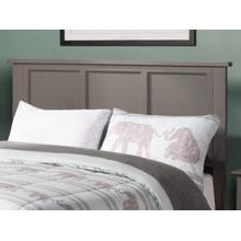 Madison Headboard Full Atlantic Grey